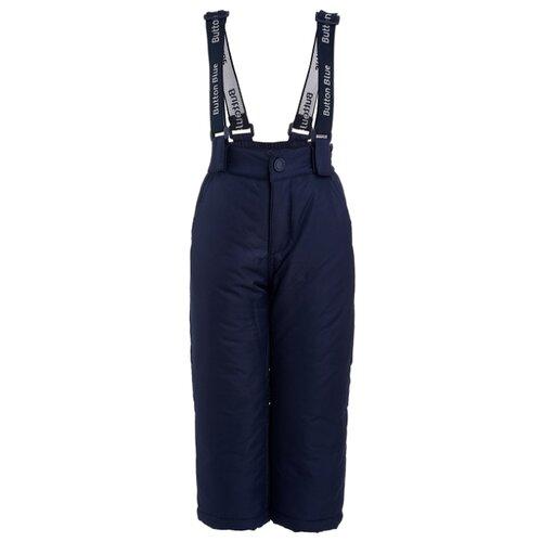 Купить Полукомбинезон Button Blue размер 98, синий, Полукомбинезоны и брюки