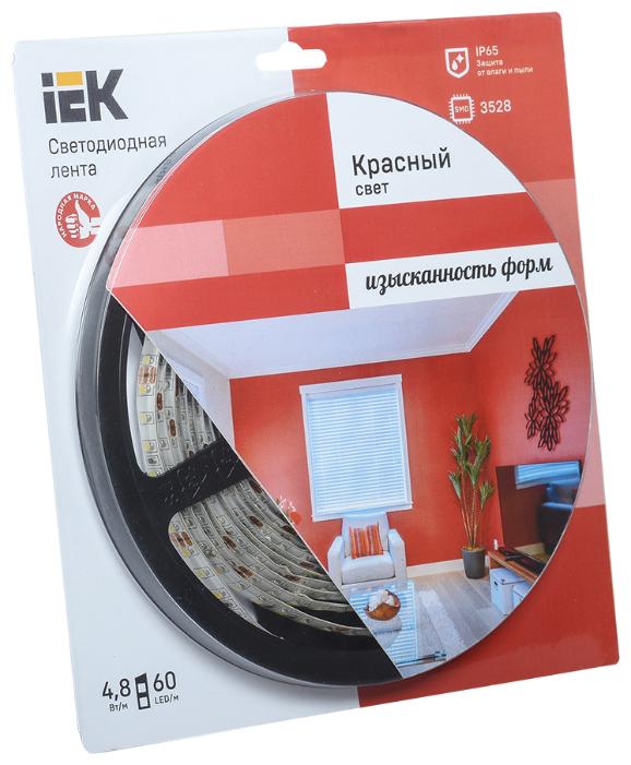 Светодиодная лента IEK ECO LED LSR-3528R60-4.8-IP65-12V 5 м