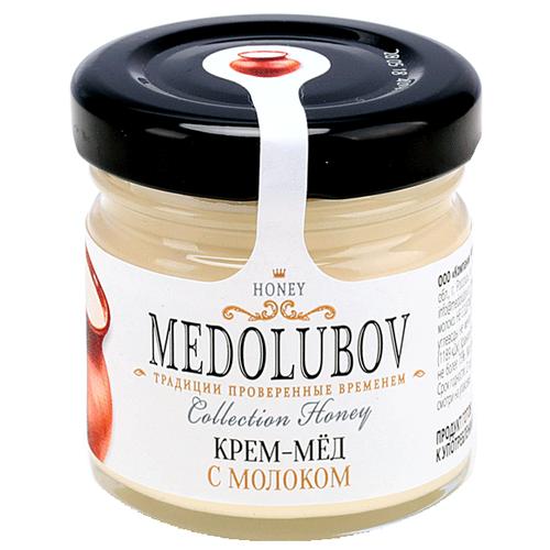 Крем-мед Medolubov с молоком 40 мл