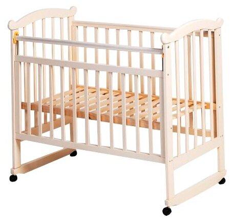 Кроватка Culla Bettula Natural (День и Ночь) (колесо/качалка)
