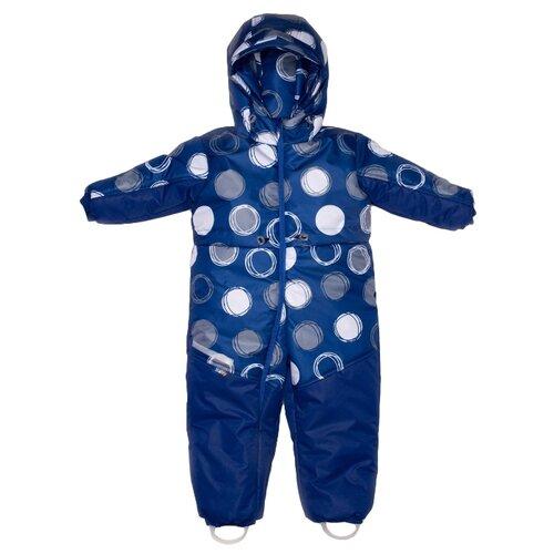 Купить Комбинезон MaLeK BaBy 255т размер 86, синий, Теплые комбинезоны