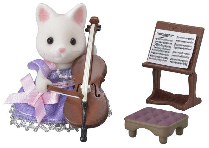 Игровой набор Sylvanian Families Концерт с виолончелью 6010