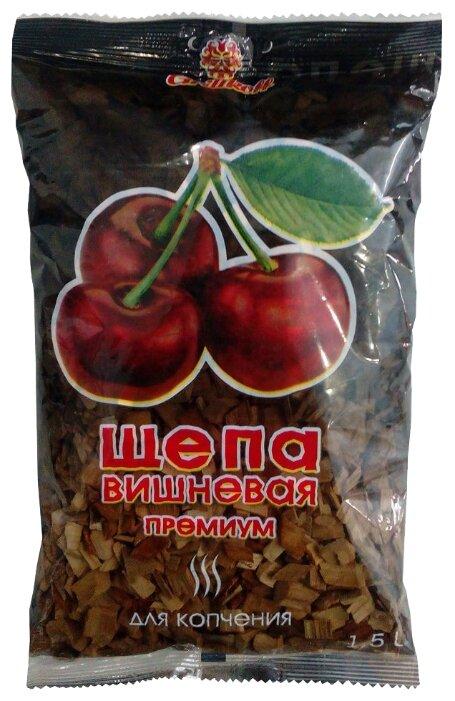 Grillkoff Щепа для копчения «Премиум», вишня, 1.5 л