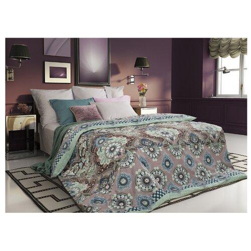 Постельное белье 1.5-спальное Sova & Javoronok Ловец снов 70х70 см, сатин розовый/зеленый
