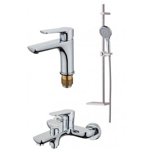 Комплект смесителей в ванную комнату (3 в 1) HANSEN H90037