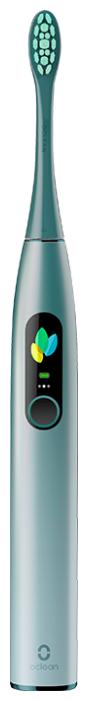 Купить Звуковая зубная щетка Oclean X Pro, mist greеn по низкой цене с доставкой из Яндекс.Маркета (бывший Беру)