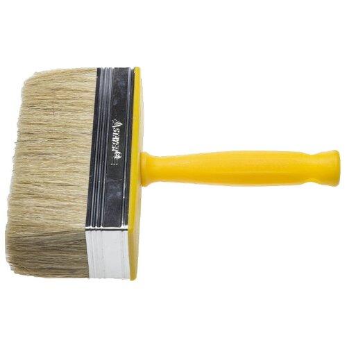 Кисть STAYER 0182-15, 150 мм, желтый кисть stayer 0187 11 110 мм черный
