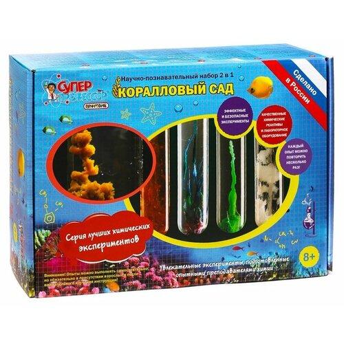 Купить Набор Qiddycome Лучшие химические эксперименты. Коралловый сад (X016), Наборы для исследований