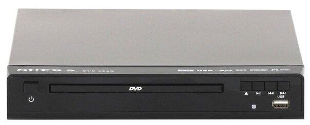 DVD-плеер SUPRA DVS-302X, черный