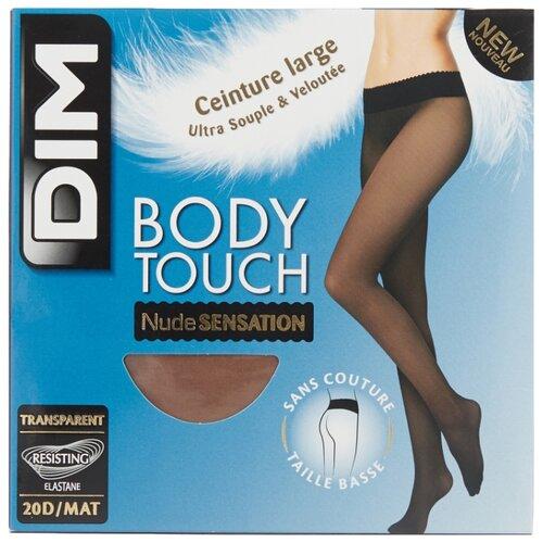 цена Колготки DIM Body Touch Nude Sensation Transparent 20 den, размер 1, телесный (бежевый) онлайн в 2017 году