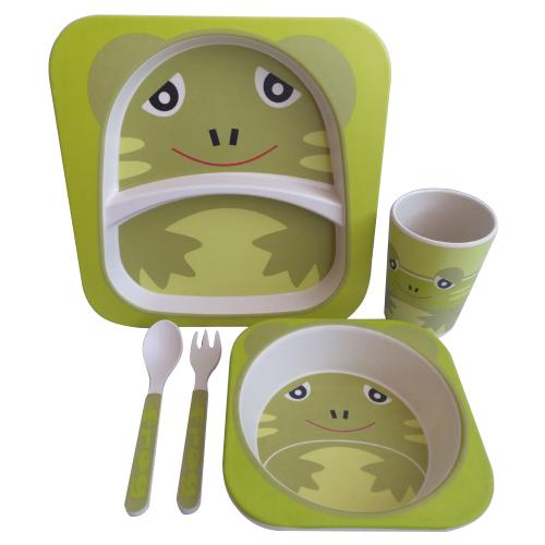 Купить Комплект посуды Baby Ryan BF001 лягушка, Посуда