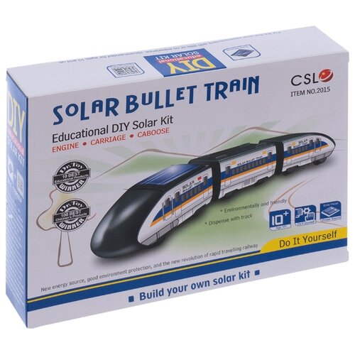 Конструктор CuteSunlight Toys Factory Solar Bullet Train