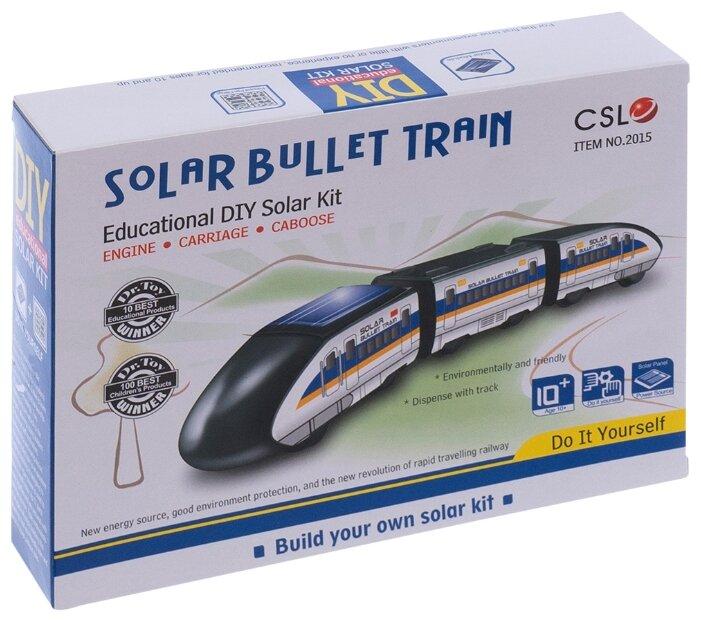 Конструктор CuteSunlight Toys Factory Solar Bullet Train фото 1