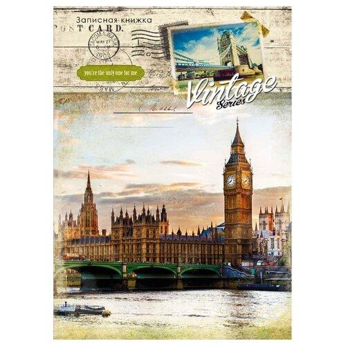 Купить Блокнот Prof-Press Ретро. Лондон Collezione А5, 80 листов (80-5391), Блокноты