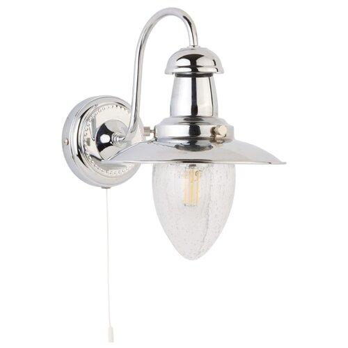 Бра Arte Lamp Fisherman A5518AP-1CC, с выключателем, 60 Вт бра arte lamp fisherman a5518ap 1ab