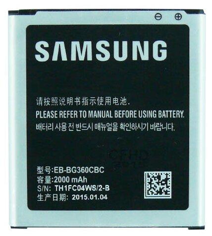 Аккумулятор Samsung EB-BG360CBE — купить по выгодной цене на Яндекс.Маркете