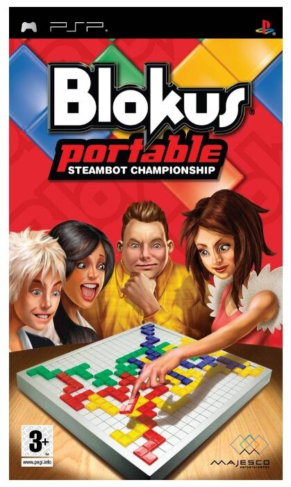 Majesco Entertainment Blokus Portable: Steambot Championship
