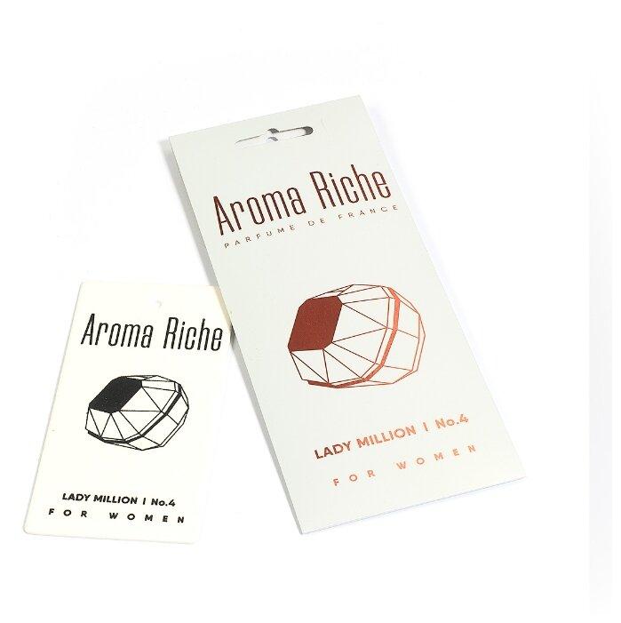 Автолидер Ароматизатор для автомобиля, Aroma Riche женский, Lady Million №4