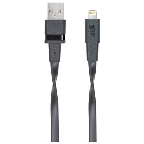 Кабель RIVACASE USB - Lightning MFI (VA6001) 1.2 м черныйКомпьютерные кабели, разъемы, переходники<br>