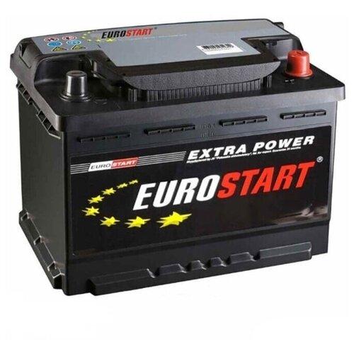 EUROSTART Аккумуляторная батарея автомобильная Extra Power 60 A/h обратная полярность