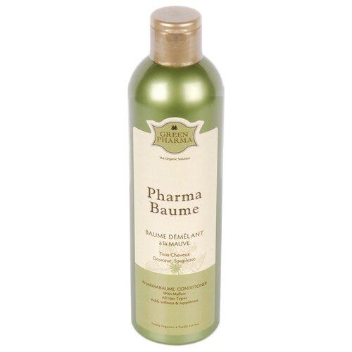 GreenPharma Кондиционер с экстрактом мальвы, облегчающий расчесывание волос, 300 млОполаскиватели<br>