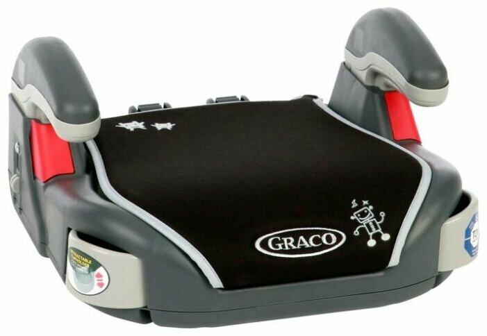 Автокресло группа 2/3 (15-36 кг) Graco Booster Basic (Sport Lime)