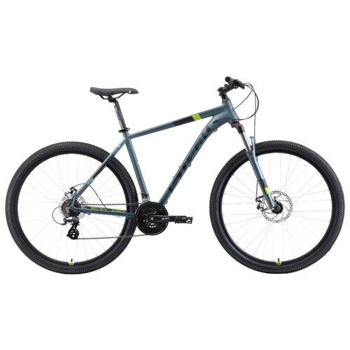 Горный (MTB) велосипед STARK Router 29.3 D (2019) серый/черный/зеленый 20