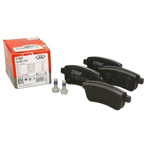 Дисковые тормозные колодки задние TRW GDB1791 для Renault Grand Scenic, Renault Megane, Renault Scenic (4 шт.) фото