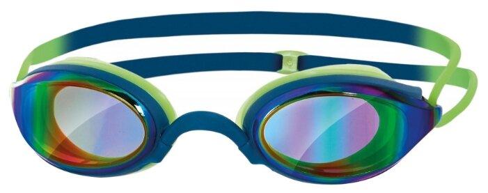 Очки для плавания Zoggs Fusion Air Gold Mirror