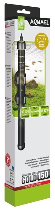 Цилиндрический нагреватель AQUAEL COMFORT ZONE GOLD 150 (90-150 л)
