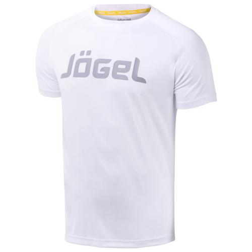 Купить Футболка Jogel JTT-1041 размер YS, белый/серый, Футболки и топы