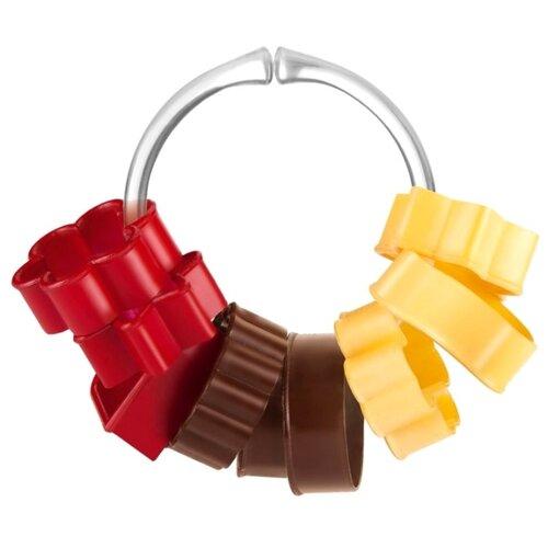 Форма для печенья Tescoma 630900 красный/желтый/коричневыйВыпечка и запекание<br>