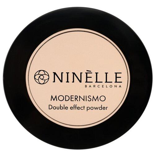 Ninelle Пудра компактная Modernismo двойного действия 222 янтарный