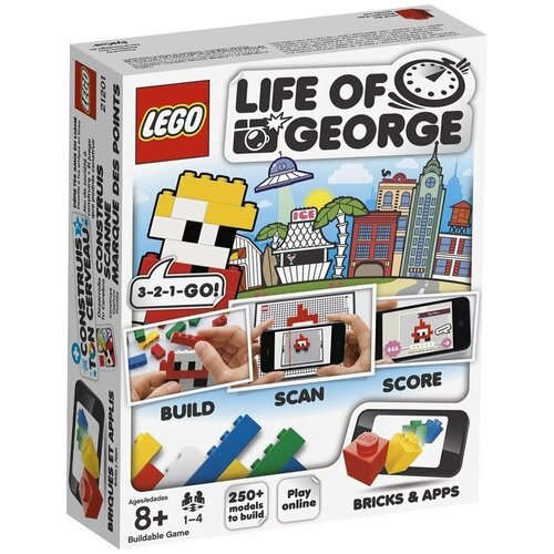 бита sata 21201 Конструктор LEGO Life of George 21201