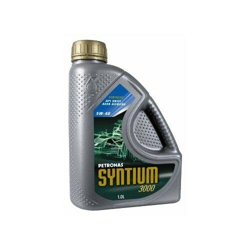 Моторное масло Petronas Syntium 3000 5W40 1 л