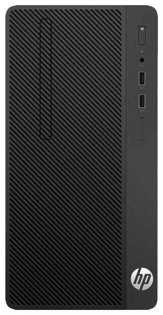 Настольный компьютер HP 290 G1 (1QN70EA) Micro-Tower/Intel Core i3-7100/4 ГБ/500 ГБ HDD/Intel HD Gra