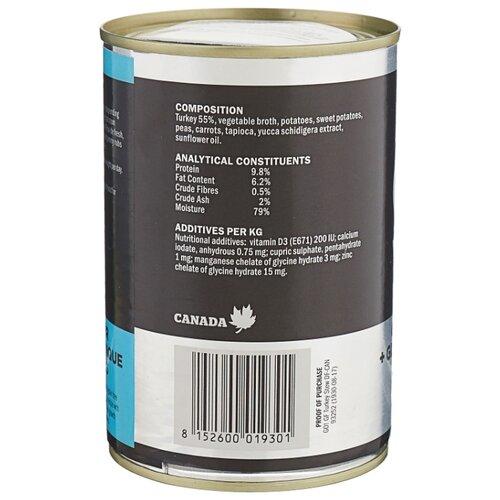 Корм для собак GO! (0.4 кг) 1 шт. Grain + Gluten Free Turkey Stew cannedКорма для собак<br>