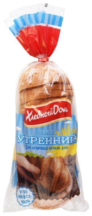 Хлебный Дом Батон Утренний нарезка пшеничный