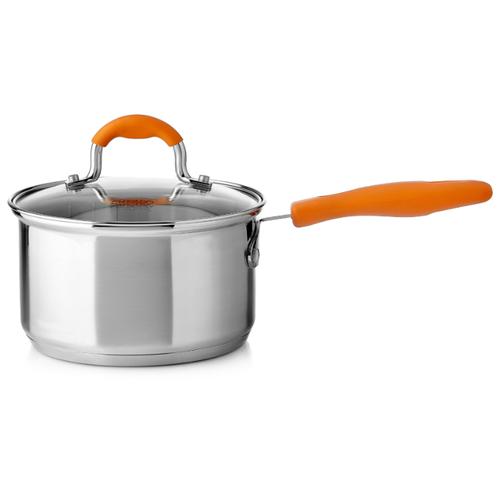Ковш Esprado Tezoro 1,9 л, серебристый/оранжевыйКастрюли и ковши<br>