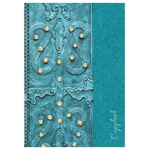 Купить Канц-Эксмо Тетрадь для конспектов ТС4964495, клетка, 96 л. Антикварная книга, Тетради