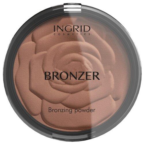 Ingrid Cosmetics компактная пудра-бронзатор HD Beauty Innovation бронзовый