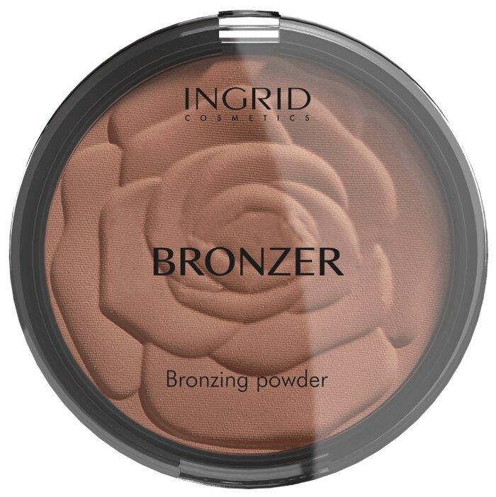 Ingrid Cosmetics компактная пудра бронзатор HD Beauty