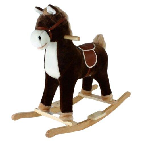 Купить Каталка-качалка Shantou Gepai Лошадка (61057) коричневый, Каталки и качалки