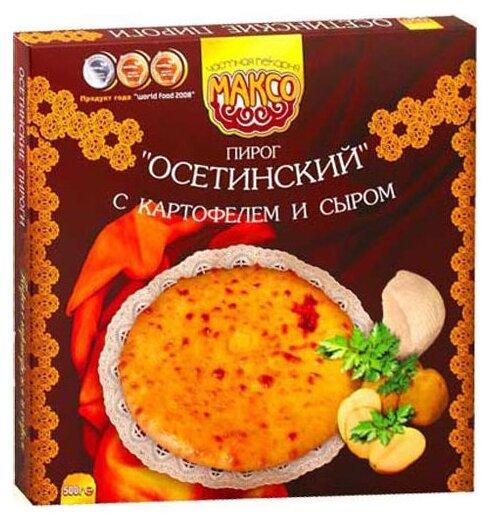 МАКСО Пирог Осетинский с картофелем и сыром, 500 г