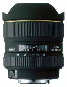 Объектив Sigma AF 12-24mm f/4.5-5.6 EX DG Aspherical Minolta A