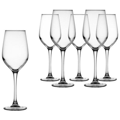 Luminarc Набор бокалов для вина Celeste 350 мл 6 шт L5831 стакан luminarc набор drip rouge red 4 шт v 350 мл высокие 754717