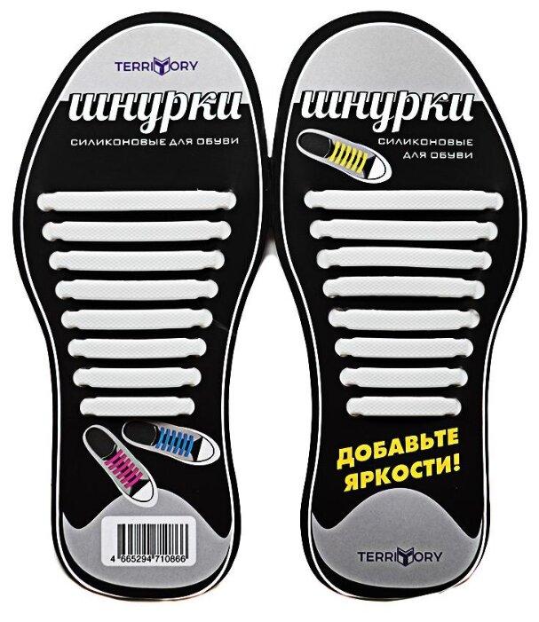 Шнурки для обуви Territory 30356 коричневый