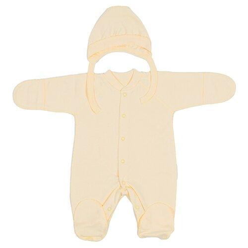 Фото - Комплект одежды Клякса размер 50, желтый комплект одежды клякса размер 86 желтый