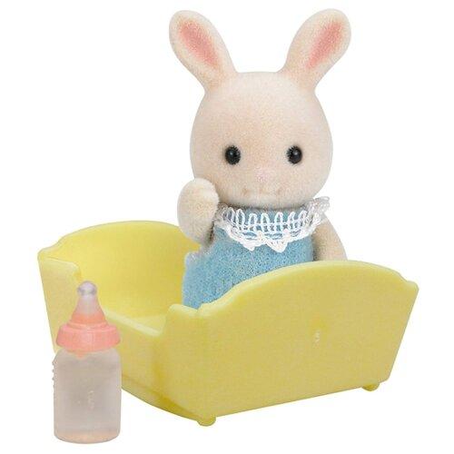 Купить Игровой набор Sylvanian Families Малыш Молочный Кролик 3418/5063, Игровые наборы и фигурки