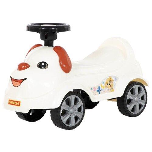 Каталка-толокар Полесье Кроха (77950) белый каталка толокар orion toys мотоцикл 2 х колесный 501 зеленый